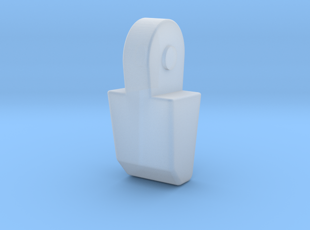MP-11 Pointer Finger in Smooth Fine Detail Plastic
