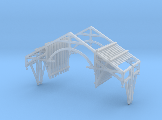 HO Scale QN Brackets And Gable Detail