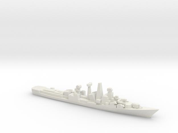 INS Ranvijay, 1/3000 in White Natural Versatile Plastic