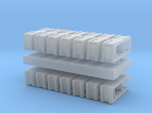 1:96 scale Rolling Bitts - Set of 12 3d printed