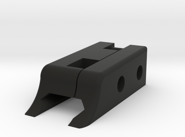 Top Rail in Black Strong & Flexible