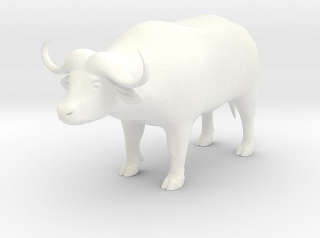 Cape Buffalo 3d printed