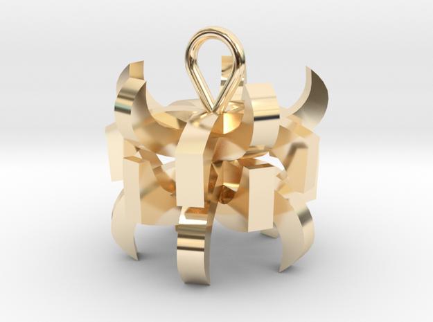 Oorbellen in 14K Gold