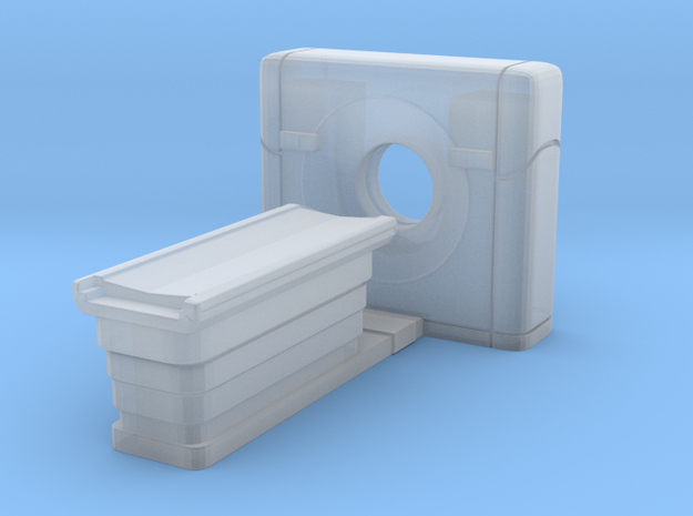 CT Scanner 01. N Scale (1:160) in Smooth Fine Detail Plastic