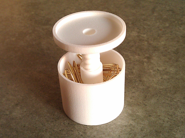 ring holder The Ringmaster Solid Tall in White Natural Versatile Plastic