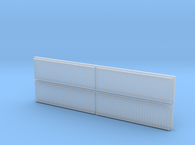 RS0002 GP40-2/SD40-2 Rad Screens Late 1/87.1 in Smoothest Fine Detail Plastic