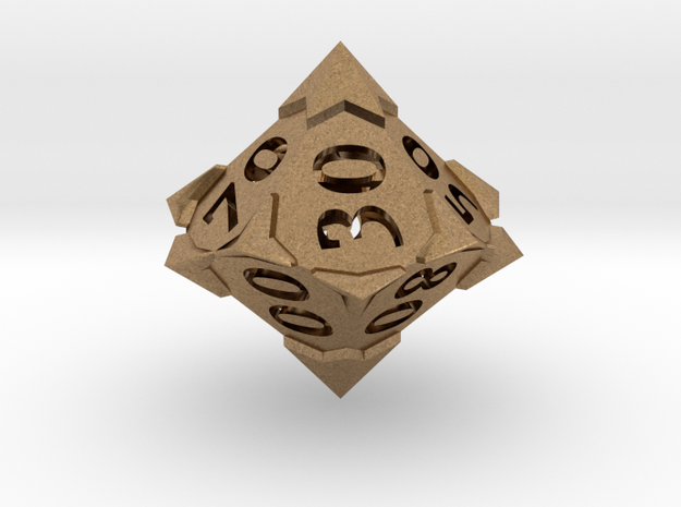 'Starry' 10D10 Die (Decader of Percentile D10)
