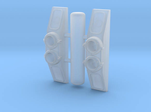 NB0001 GTW/SP SW800/900/1200RS Numberboards 1/48 in Smoothest Fine Detail Plastic