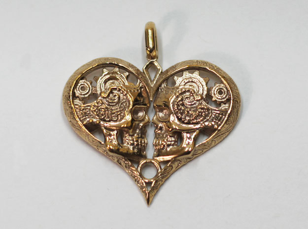 Love You To Death Pendant