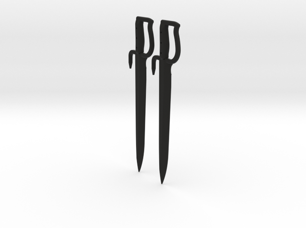 1:6 Butterfly Swords 1 pair