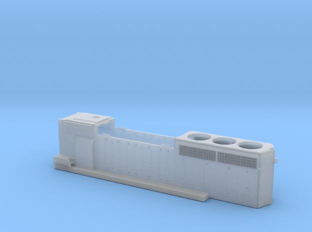 CN 5241-5278 SD40-2W (rebuilt) Hood 1/87.1 in Smoothest Fine Detail Plastic