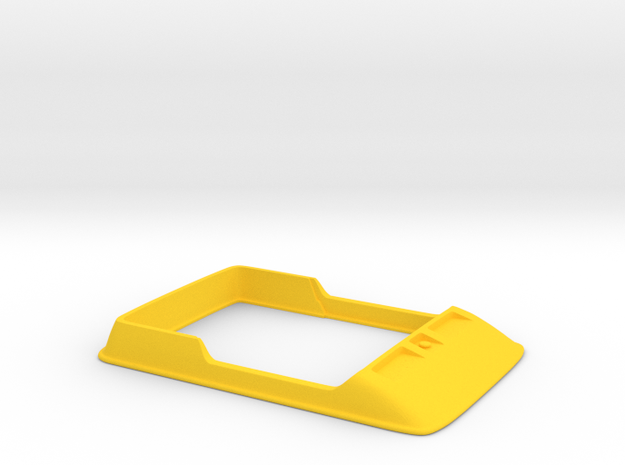 Amphicat body upper in Yellow Processed Versatile Plastic