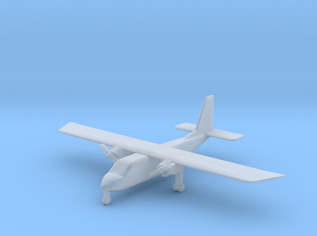 1:400 Britten-Norman BN-2 Islander in Smoothest Fine Detail Plastic