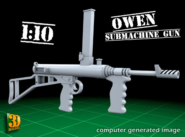 Owen submachine gun (1:10)