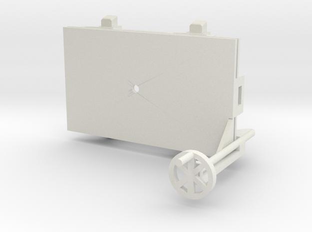 A-1-32-wagon-d-class-bogie-1a in White Natural Versatile Plastic