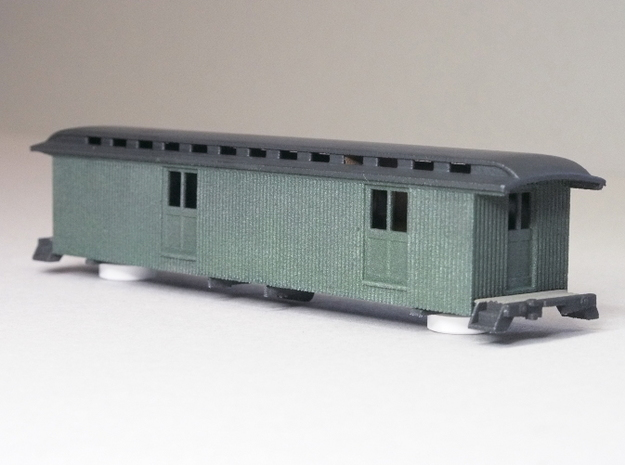 HOn3 40ft Baggage/Mail Car E 3d printed