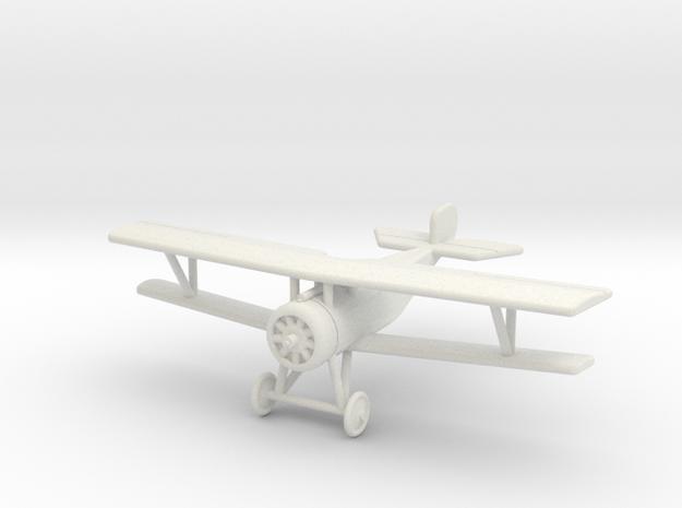 GWA03 Nieuport 17 (1/144) in White Natural Versatile Plastic