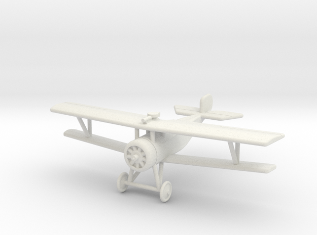 GWA03A Nieuport 17 RFC (1/144) in White Natural Versatile Plastic
