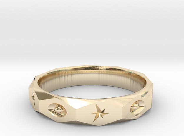 star spark ring  in 14K Gold: 10.5 / 62.75