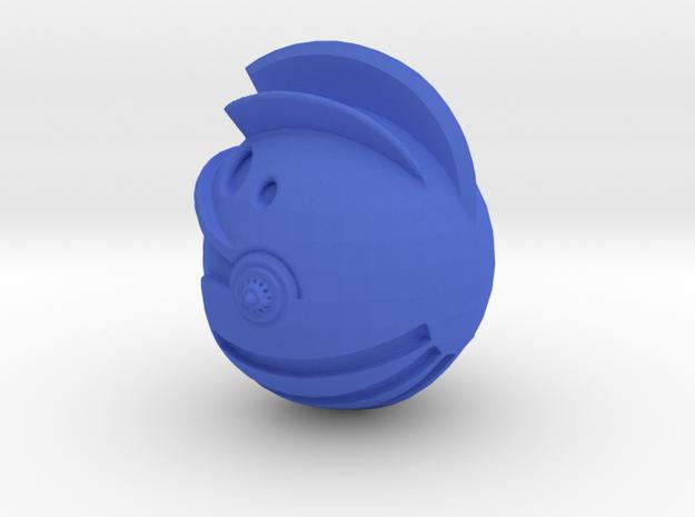 Yattaran Head Imperial knight Scale in Blue Processed Versatile Plastic