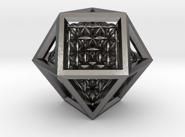 Super Vector Equilibrium in Polished Nickel Steel