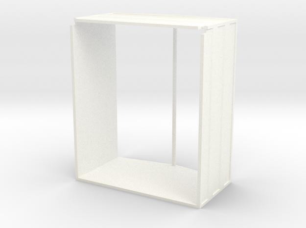 Unimog Aufbau Welly in White Processed Versatile Plastic