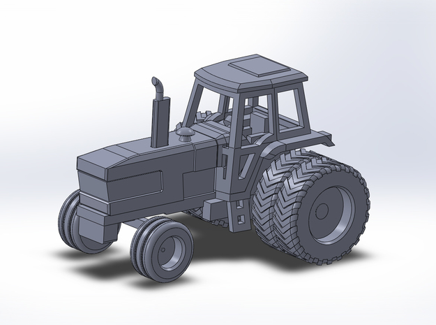1:160/N-Scale Ford TW 30 on Duals in Smooth Fine Detail Plastic