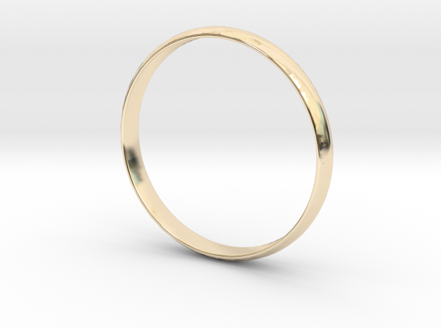 Ring Size 8 Design 3 in 14K Yellow Gold