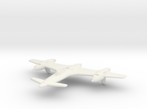 1/200 Bombardier CB-7 Loup Garou in White Natural Versatile Plastic