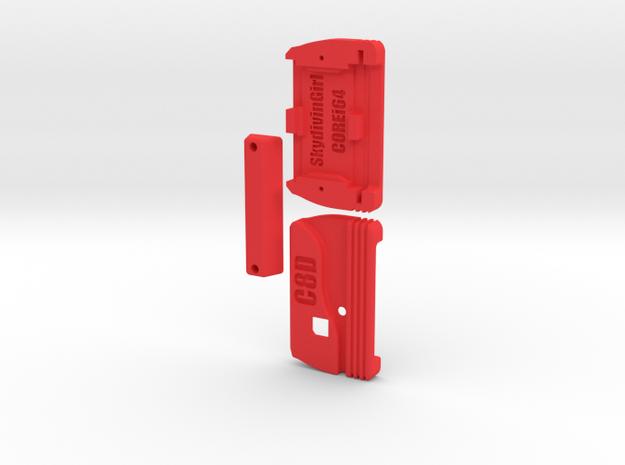 C8D Joystick Switcher Standard Edition in Red Processed Versatile Plastic