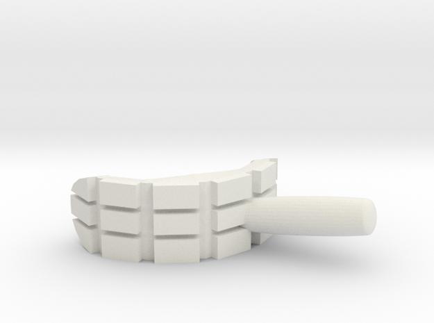 Bender Mouth Cigar in White Natural Versatile Plastic
