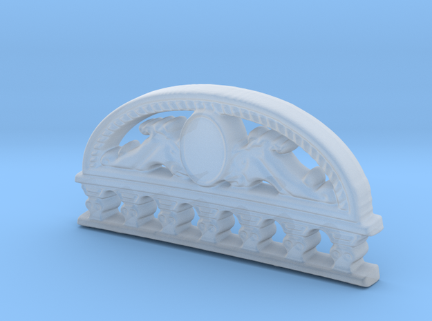 Stern Top for Kolderstok Batavia 1:72 in Smooth Fine Detail Plastic