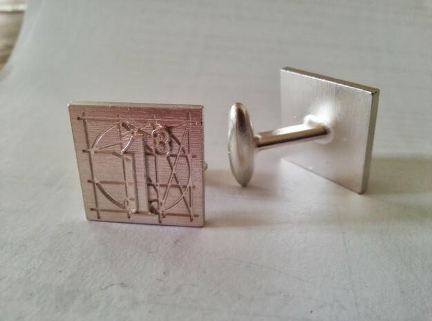 Cufflinks AP Prototype 3d printed