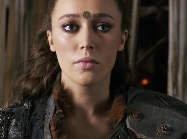 [The 100] Heda Forehead Piece - Top Suspension in 14K Yellow Gold