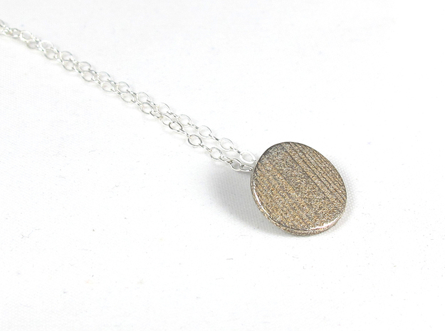 Fingerprint Pendent  in Stainless Steel