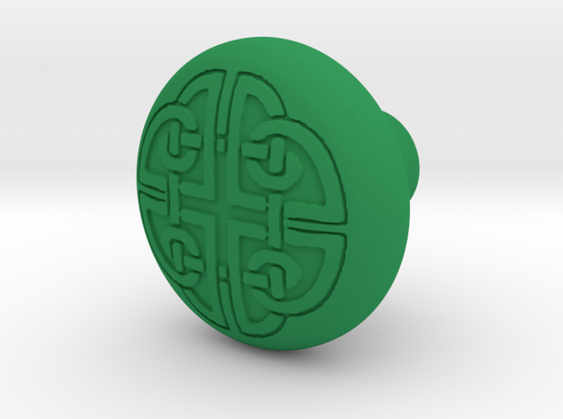 DORADO door knob in Green Processed Versatile Plastic