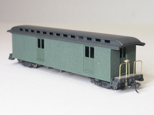 HOn30 40ft Baggage/Mail Car E 3d printed