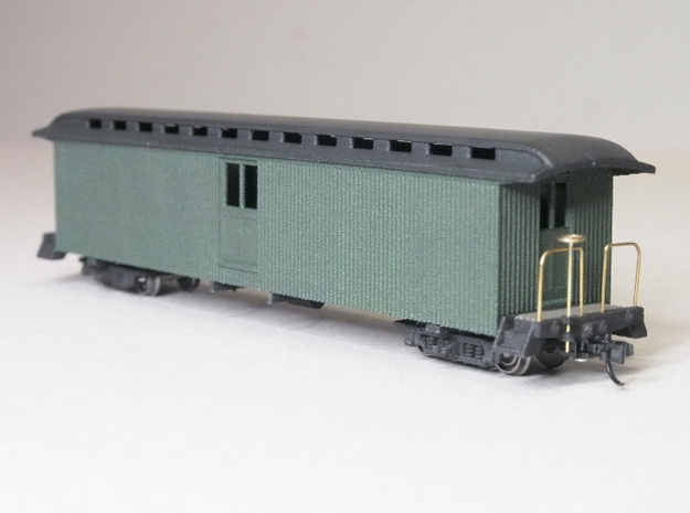 HOn30 40ft Baggage Car D 3d printed