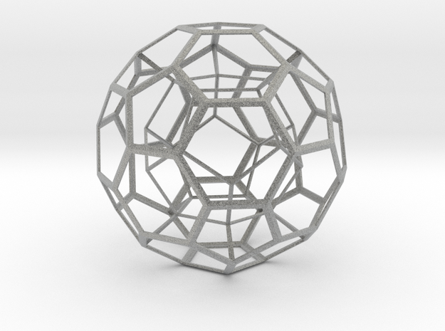 Dodecahedron in Truncated Icosahedron 3d printed