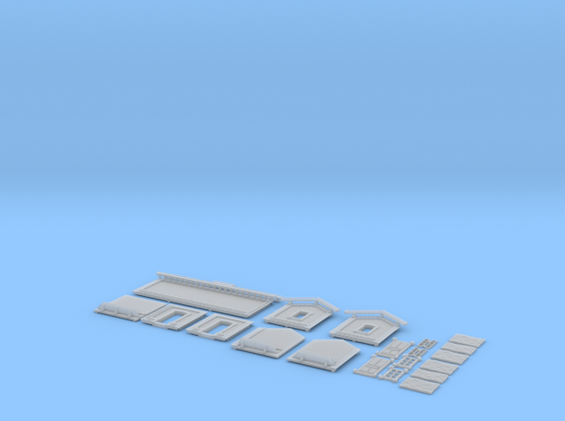 NAQ13 Platform shelter in Smooth Fine Detail Plastic
