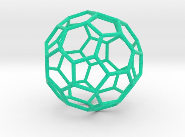0478 Truncated Icosahedron E (6.2 см) #002 in Full Color Sandstone