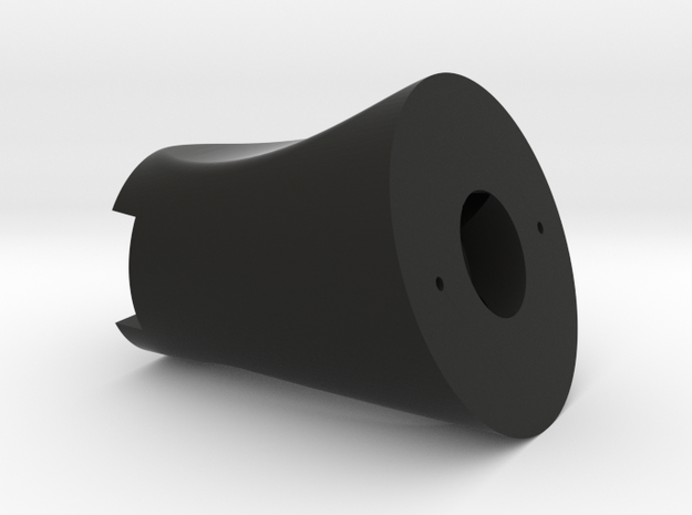 Throttle Handle base for Fw190 early in Black Natural Versatile Plastic