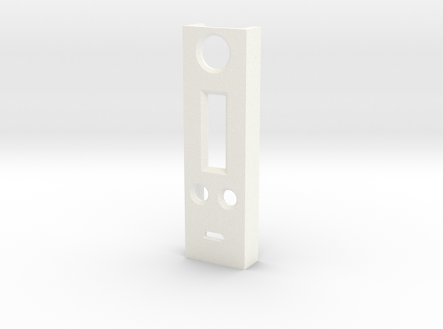 dna200 face plate in White Strong & Flexible Polished