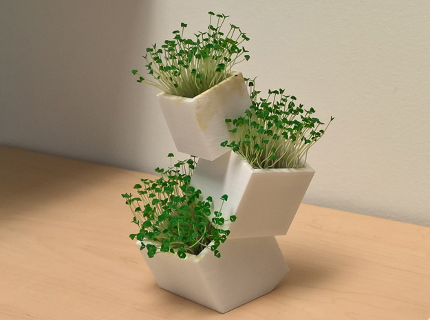 Toppling Boxes container/planter