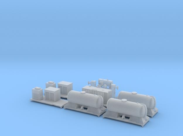 FEA-B Rail Head Treatment Train v1.0 in Smooth Fine Detail Plastic