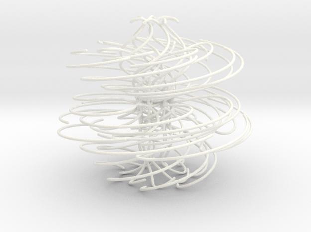 42 in White Processed Versatile Plastic