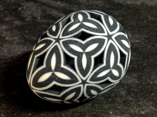 Mosaic Egg #11 in Full Color Sandstone