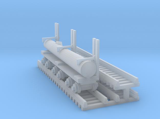 Log Mover+Log - N 160:1 Scale