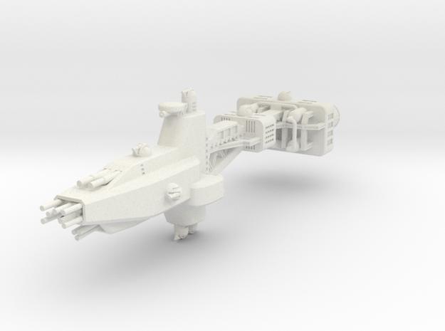 EA Heavy Cruiser Large in White Natural Versatile Plastic