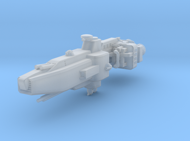 EA Command Cruiser Fleet Scale in Frosted Ultra Detail